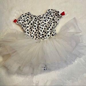 Gymboree Dalmatian tutu costume 18-24 months